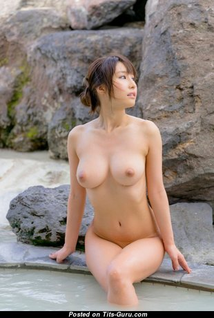 Ayami Shunka - Magnificent Topless Asian Babe with Magnificent Bald Dd Size Boobys (Hd Porn Pic)
