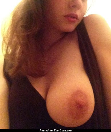 Image. Beautiful woman with big natural breast image