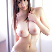 Sexy asian brunette with big tits image