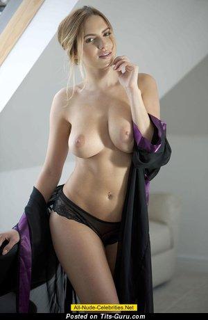 Image. Sabine Jemeljanova - sexy nude amazing girl with medium natural tittes picture