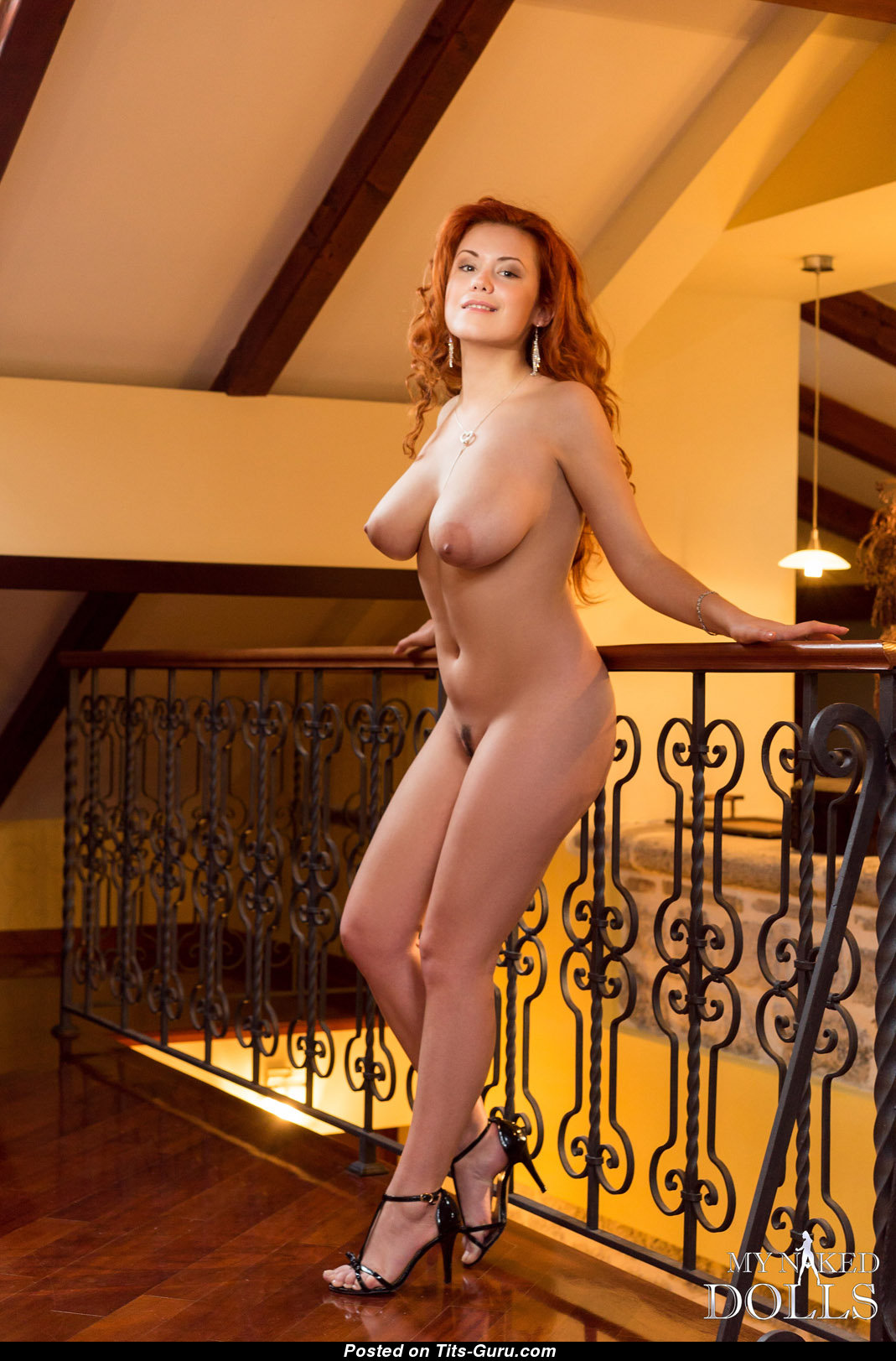 lilliyth von titz - naked red hair with big natural tittys and big