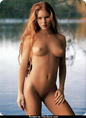 Heather Christensen - Handsome American Playboy Red Hair Babe with Handsome Bald Natural Mini Tit (Xxx Image)
