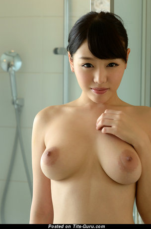 Image. Mao Hamasaki - asian with big natural tots image