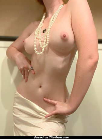 Good-Looking Topless & Glamour Babe with Good-Looking Nude Real Normal Boobie is Undressing (Hd Porn Photo)