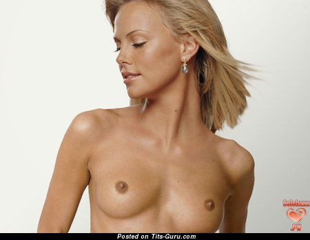 Charlize Theron - Cute Unclothed Red Hair Actress & Babe (Hd Sexual Picture)