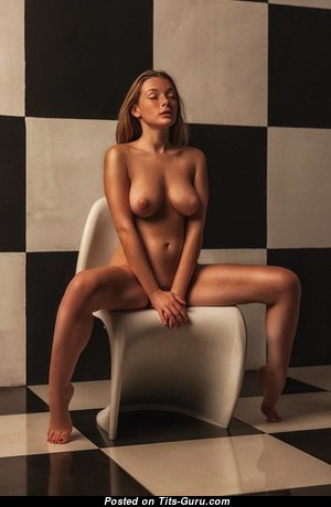 Olga Kobzar - Yummy Russian Blonde with Yummy Nude Normal Knockers (Xxx Picture)