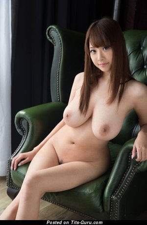 Image. Rion - sexy nude beautiful female with big natural tots pic