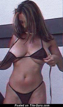 Image. Wonderful girl with huge tittes gif