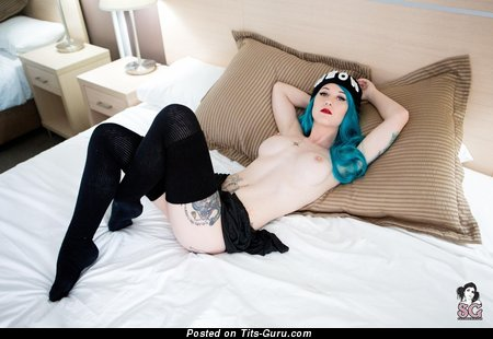 Emmameow - Cute Australian Doxy with Cute Nude D Size Chest in Stockings (Hd 18+ Photoshoot)