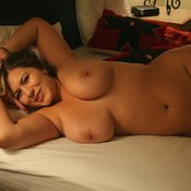 Beautiful girl with big natural tittes pic