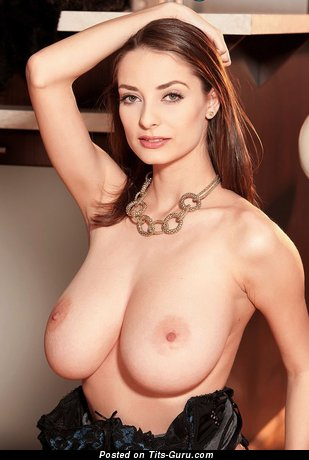 Image. Estelle Taylor - sexy nude wonderful girl with big natural boobs picture