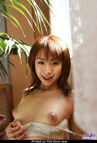 Image. Pretty Asian Teen - hot female with natural tots photo