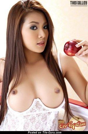 Naked amazing female with medium tots image
