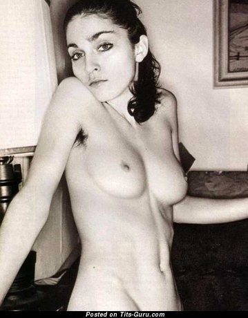 Image. Madonna - nude wonderful female with small natural breast picture