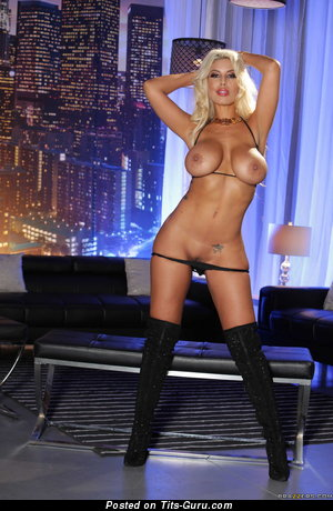 Image. Bridgette B - sexy naked blonde with big tittys photo