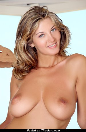 Vanessa - Sweet Blonde Babe & Pornstar with Sweet Bare Natural D Size Tits (Hd Xxx Photo)