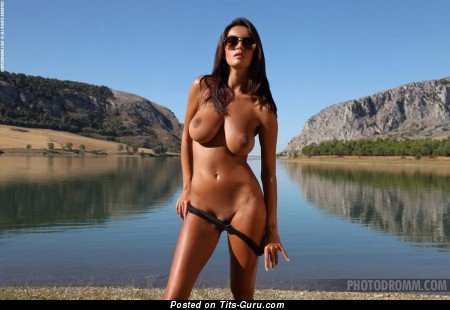 Gabriela B - Magnificent Floozy with Magnificent Defenseless Ddd Size Jugs (Sex Picture)