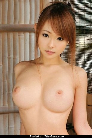 Naked awesome female with medium boobies image