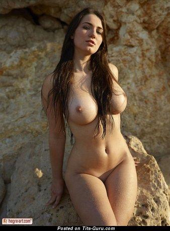 Image. Yara Eggimann - amazing female with big boobies photo