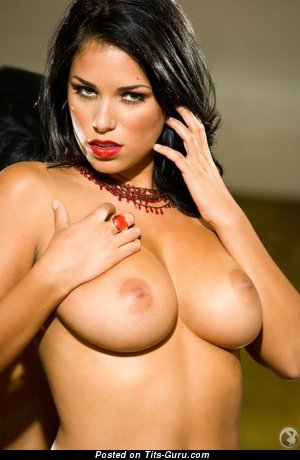 Image. Janine Habeck - naked nice female with big natural breast pic