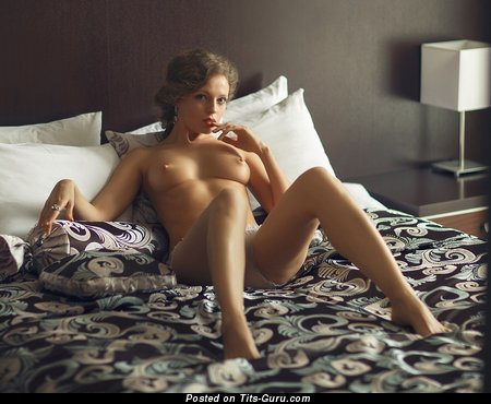 Fine Babe with Fine Bald Natural Firm Busts (Hd 18+ Photoshoot)