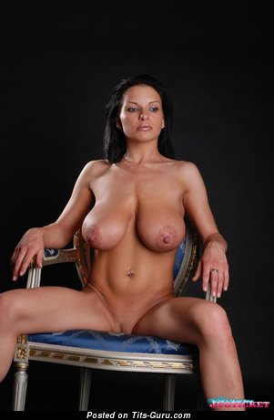 Image. Aksana Shyker - nude amazing lady with big natural boobs and big nipples pic