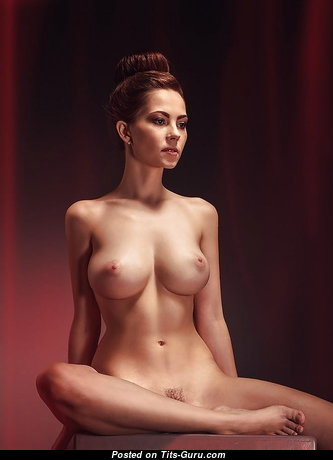 Charming Glamour Babe with Charming Exposed Natural Firm Breasts (Sexual Image)