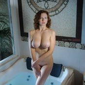 Awesome female with big natural breast picture