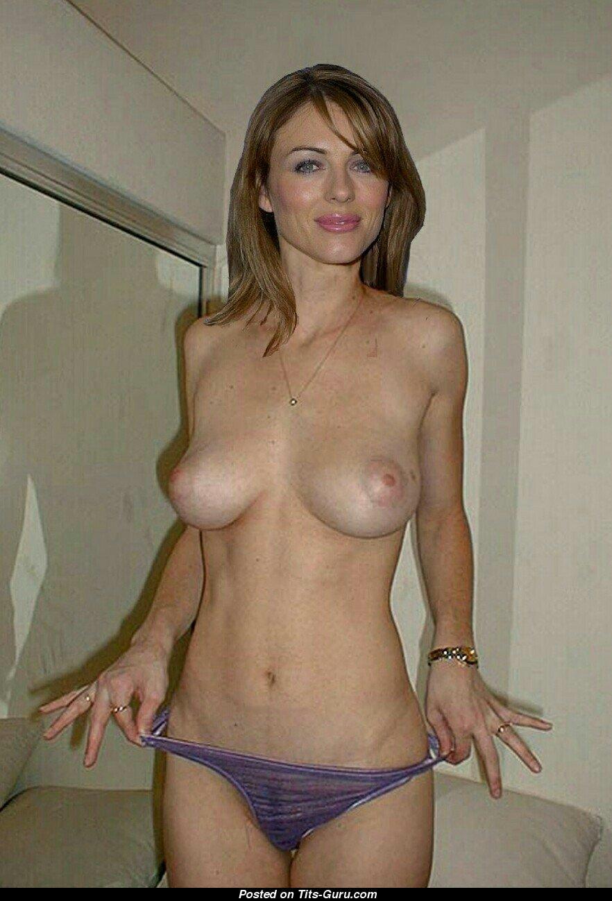 naked photos of elizabeth hurley