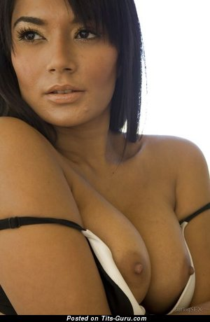 Image. Shazia Sahari - hot girl with medium boob image