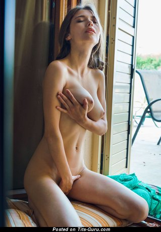 Image. Mila Azul - nude hot woman with big natural breast image