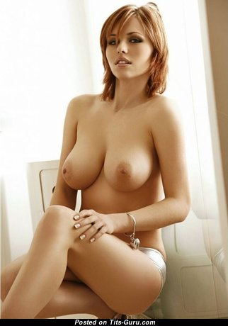 Amazing Babe with Amazing Bare Real Average Busts (Sexual Pic)