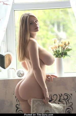 Image. Nude nice girl with huge natural boob image