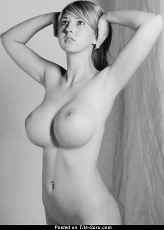 Image. Naked nice lady with big boob photo
