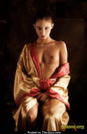 Image. Nude nice woman with natural boob photo