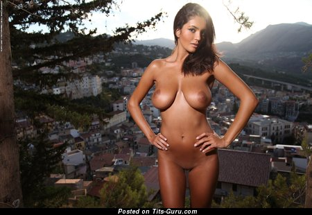 Ela Savanas - Charming Romanian Gal with Charming Exposed C Size Jugs (Hd Sex Pic)