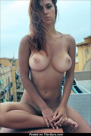 Exquisite Girlfriend with Exquisite Bald Dd Size Boobs (Hd Xxx Foto)