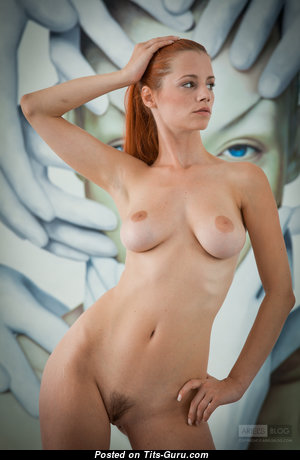 Ariel Piper Fawn - Sexy Czech Red Hair Babe & Pornstar with Sexy Nude Natural Normal Knockers & Giant Nipples (4k 18+ Foto)