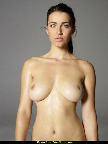 Image. Amazing girl with medium natural tots image