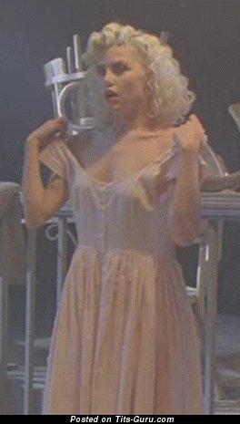 Sherilyn Fenn - nude blonde with medium natural boob gif