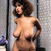 Christie Canyon - hot lady with big natural tittes vintage