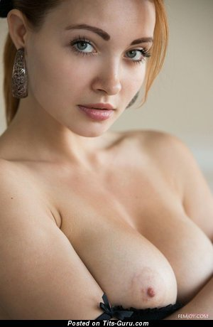 Naked nice female with natural tittes photo
