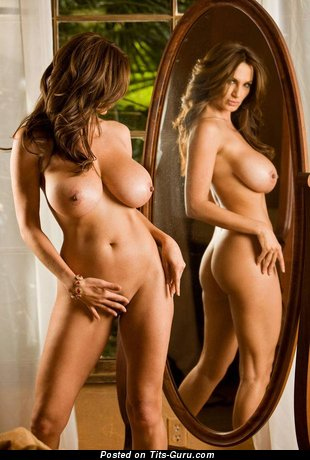 Image. Petra Verkaik - nude brunette with medium tittes image