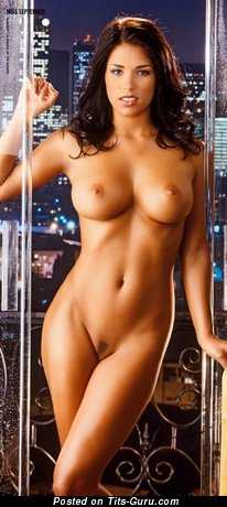 Janine Habeck - naked nice woman with medium natural tittys image