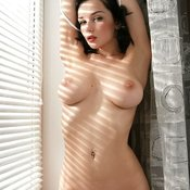 Jenya D - amazing lady with big natural tittys image
