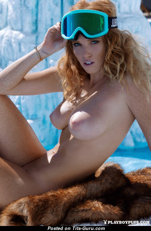 Elizabeth Ostrander - Magnificent American Playboy Blonde Babe with Magnificent Defenseless Natural C Size Titties (Hd Sexual Pix)