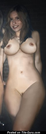 Sabryn Martis: sexy topless amateur amazing female with medium boobs & big nipples picture