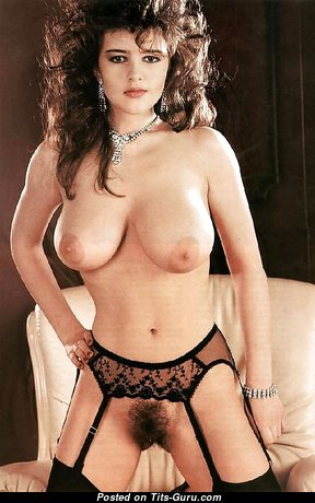 Gail Mckenna - Sexy British Brunette with Sexy Exposed Natural Mid Size Knockers (Xxx Wallpaper)