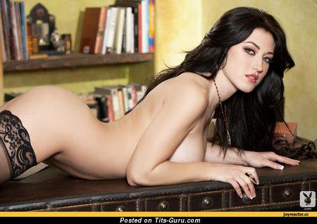 Image. Naked beautiful lady with big breast photo