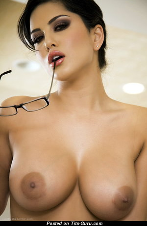 Image. Sexy brunette with big nipples image